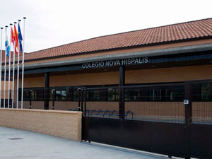 Limpieza de cristales Colegio Nova Hispalis Madrid