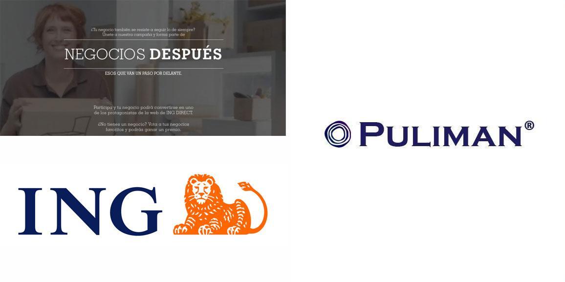 Pulimán participa en la campaña NEGOCIO DESPUÉS de ING DIRECT
