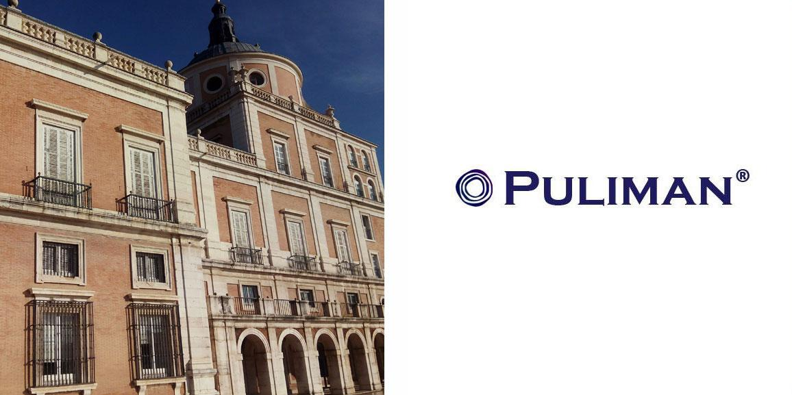 Pulido de cristales en el Palacio de Aranjuez